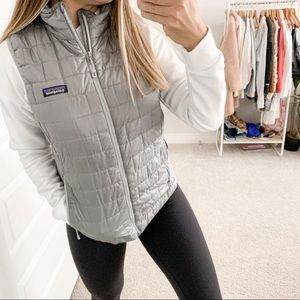 Patagonia Nano Puff Vest Feather Gray